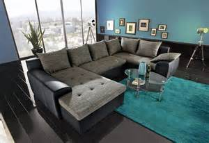 weiss grau wohnzimmer mit violett deko wohnlandschaft ideen bilder inspiration otto