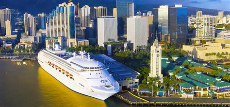 Honolulu Cruise Terminal - SailFaceu2122