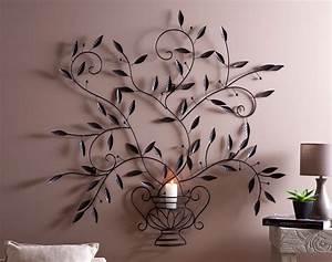 Decoration Murale Fer : decoration murale en fer forge design mural the baltic post ~ Melissatoandfro.com Idées de Décoration
