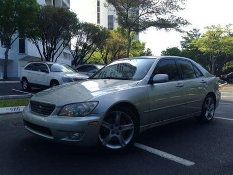 lexus sedan 2001 purchase used 2001 lexus is300 base sedan 4 door 3 0l in