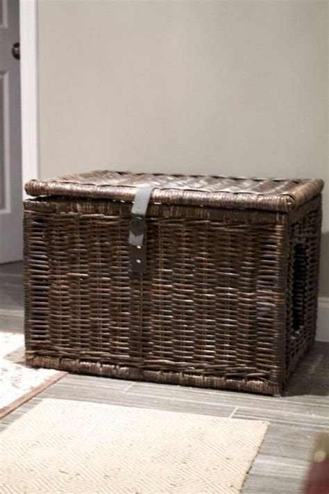 cat litter box hide ways cool boxes hidden awesome idea digsdigs cats wicker easy diy kitty check basket source apartment