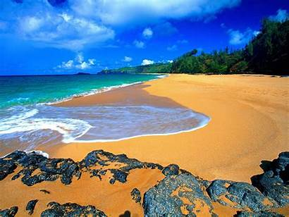 Kauai Beach Hawaii Kizie Beaches Island Islands