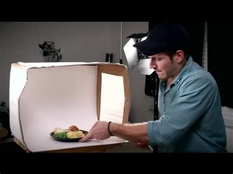lightbox  photograph food tips