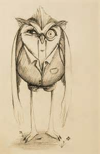Owl Tattoo Sketches and Drawings
