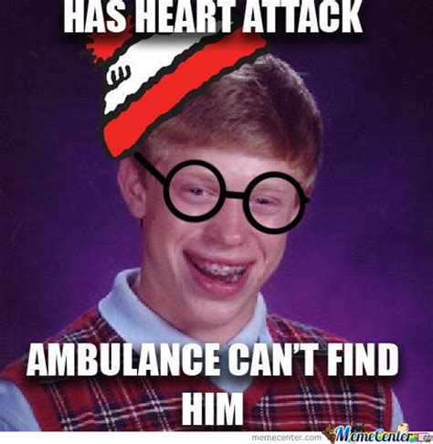 Waldo Meme - bad luck waldo where s waldo where s wally know your meme