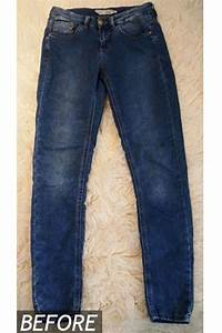 DIY Isabel Marant Inspired Bleached Jeans