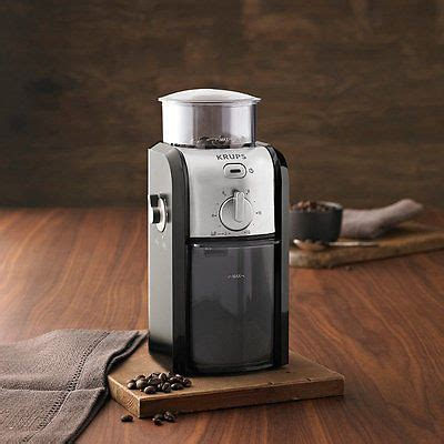 Krups gvx231 coffee grinder visit the krups store. Krups Expert GVX231 Burr Coffee Grinder   Coffee Grinders   Coffee, Tea & Espresso Making ...