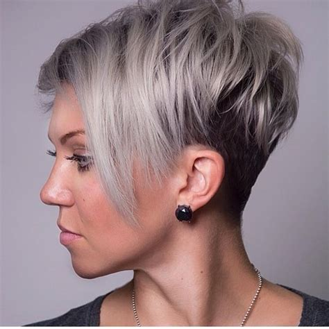 cool 45 unique short hairstyles for round faces get