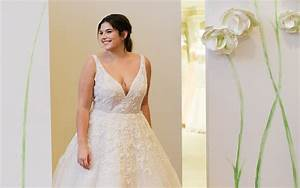 Kleinfeld bridal the largest selection of wedding for Plus size wedding dresses near me