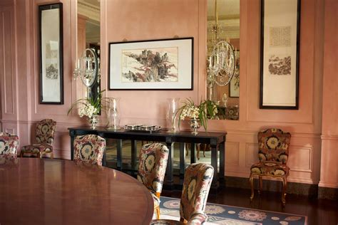 Brown Decor Living Room by Nina Campbell Interiors Blog Book Tour Lobster And Swan