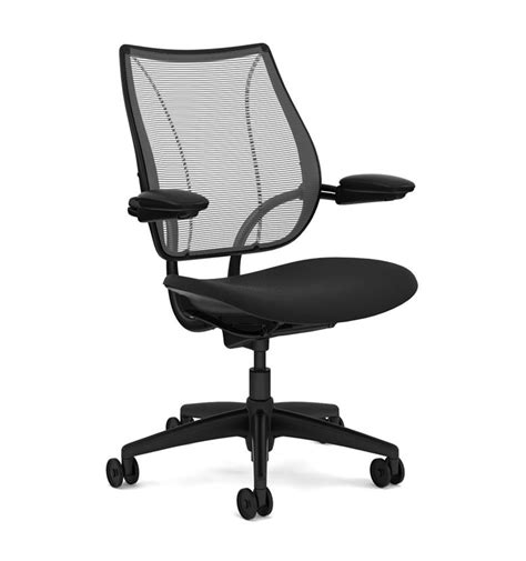 humanscale liberty chair black edition from office chairs