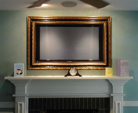 Fireplace Tv Pictures by 1000 Images About Tv Above Fireplace Ideas On