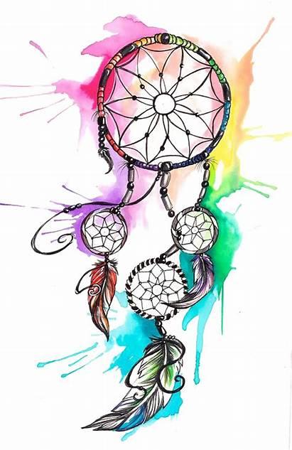 Tattoo Transparent Dreamcatcher Watercolor Hq Drawing Pencil