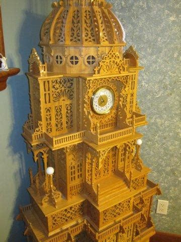 fretwork clock woodworking talk woodworkers forum