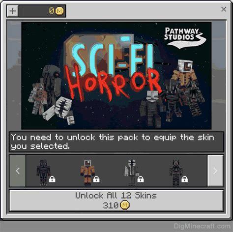 sci fi horror skin pack  minecraft