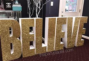 large prop letters designs the party place li the With giant letters for baby shower