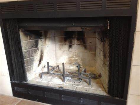 turn wood fireplace into gas wood burning gas zero clearance fireplace