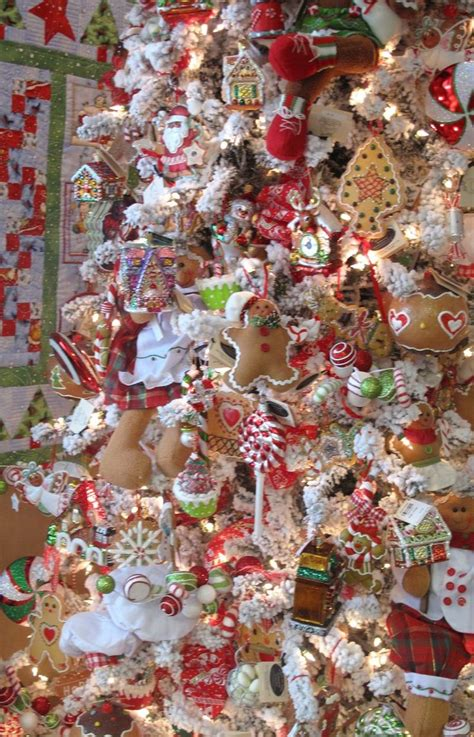 gingerbread themed christmas tree www pixshark com