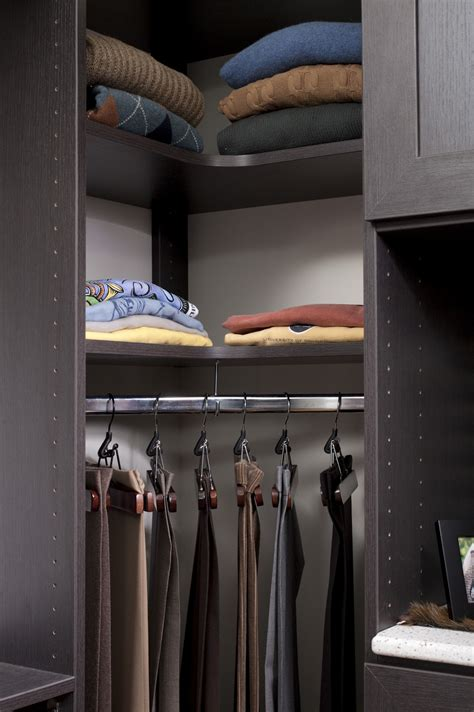 professionally built custom walk in closet design the