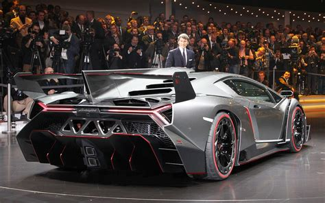 740-hp Lamborghini Veneno Is Latest