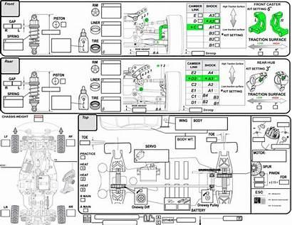 Setup Modified Asphalt Guide Chassis Sprint Race