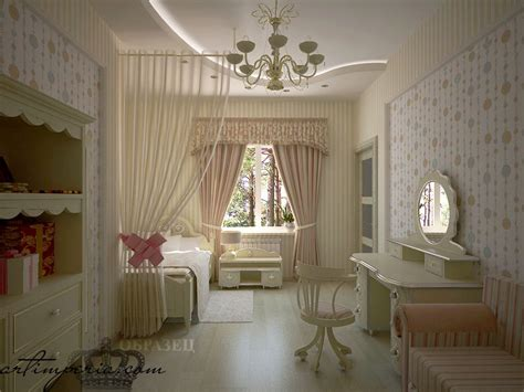 Дизайн интерьера детской Мозаика