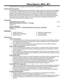 rn bsn nursing resume professional graduate templates to showcase your talent myperfectresume