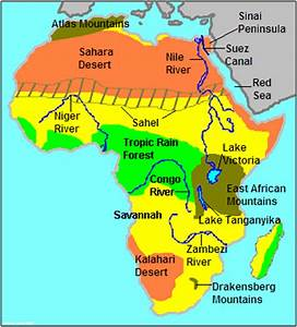 Chapter 13 Section 1; Geography & Early Africa - ThingLink