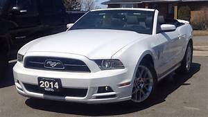 2014 Ford Mustang V6 Premium Convertible: Start Up, Exterior, Interior & Full Review - YouTube