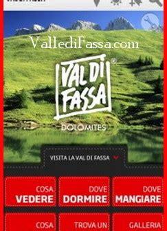 azienda di soggiorno val di fassa vacanze perfette con la nuova app val di fassa tourist