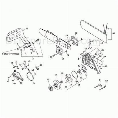 Diagram Stihl Parts Chainsaw Boss Farm Av