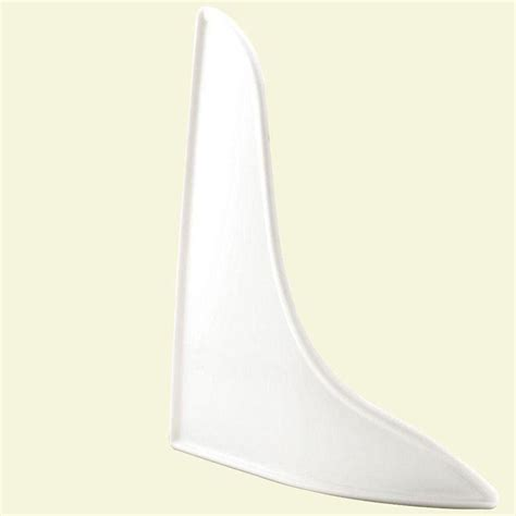 Bathtub Splash Guard Canadian Tire by Prime Line Curved White Splash Guard M 6086 The Home Depot