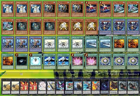 elemental deck recipe lightsworn ritua deck by sintruth