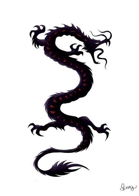 japanese dragon tribal tattoo images  pinterest dragon tattoo designs tribal