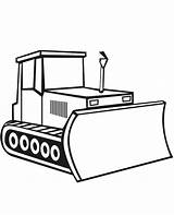 Coloring Bulldozer Digger Construction Pages Drawing Craft Simple Template Sketch Moving Parts Truck Tractor Vehicles Sketchite Sheet Templates Clipartmag Excavator sketch template