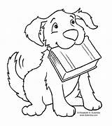 Newfoundland Coloring Dog Pages Getcolorings Printable sketch template