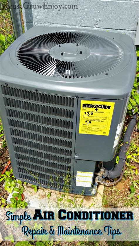 simple air conditioner repair and maintenance tips reuse grow enjoy