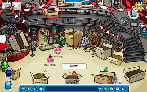 Club Penguin Pizza Parlor Game