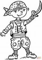 Pirate Coloring Pages Pirates Dressed Underpants Child Ship Printable Story Drawing Games Dot sketch template