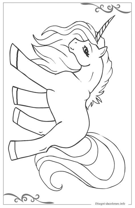 unicorno immagini da colorare  bambini gratis