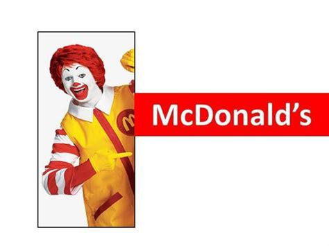 mcdonalds powerpoint template mcdonald authorstream