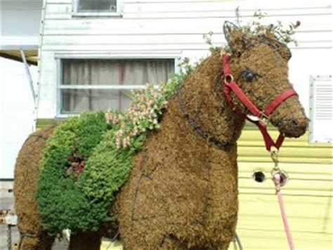 Equine Expressions Horse Topiary