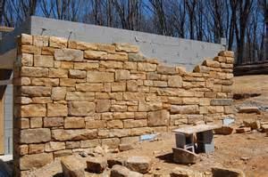 Sandstone Stone Wall