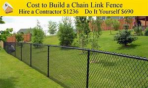 Cost To Build A Chain Link Fence