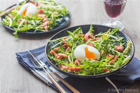 cuisine le fenouil salade de pissenlit lardons oeuf mollet cuisine addict cuisine addict de cuisine