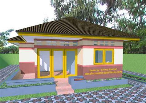 desain rumah minimalis sederhana  kampung amp desa