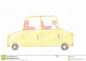 Voiture De Tourisme : voiture de tourisme sur le fond blanc dessin d 39 enfants de couleur illustration stock ~ Maxctalentgroup.com Avis de Voitures