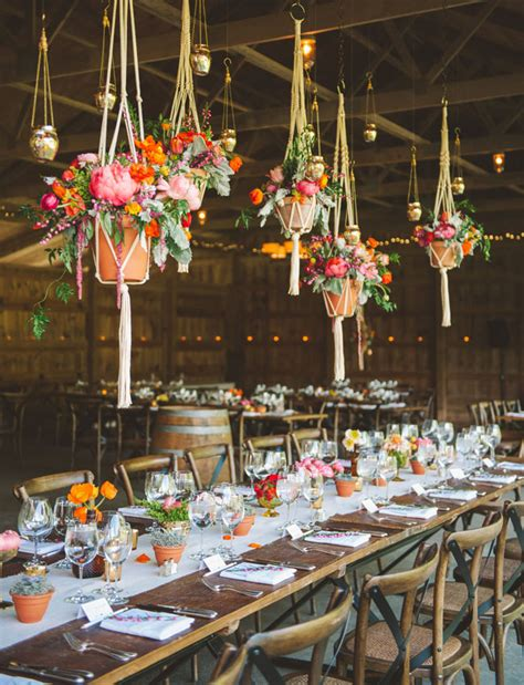 hanging floral centerpieces hanging wedding flowers the biggest boldest trend for wedding decor onefabday com