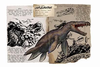 Liopleurodon Dossier Ark Evolved Survival Gamepedia Dino