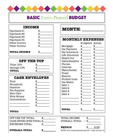 budget worksheet  bravebtr